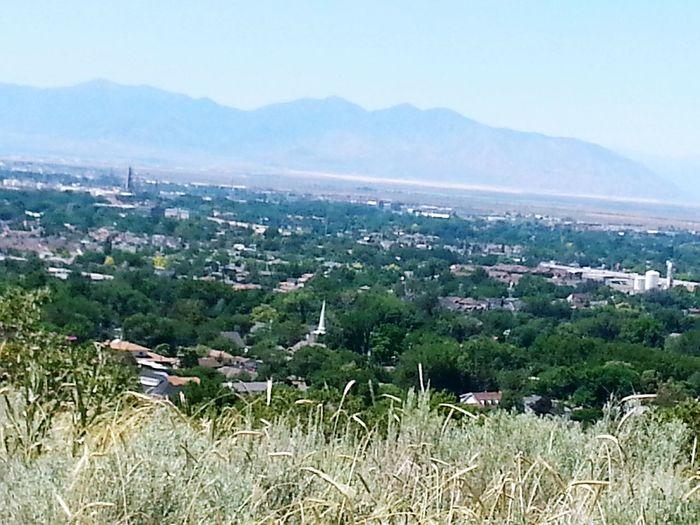 A view of Salt Lake City, Utah looking towards the Bonneville Salt Flats. City Landscape Utah First Eyeem Photo