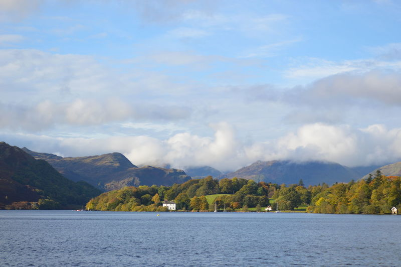 Lake District Beauty In Nature Cloud Cloud - Sky Cloudy Day Idyllic Landscape Mountain Nature No People Non-urban Scene Outdoors Scenics Sky Tranquil Scene Tranquility Water Waterfront Ullswater Waters Edge English Countryside Cumbria Natural Beauty Lakeshore Lake District