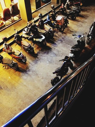 Waiting Night Motorcycles Asianboy Waiting Internetcats Internetcafé High Angle View Indoors  Real People Full Length Railing Large Group Of People Day Sitting People Men Adult