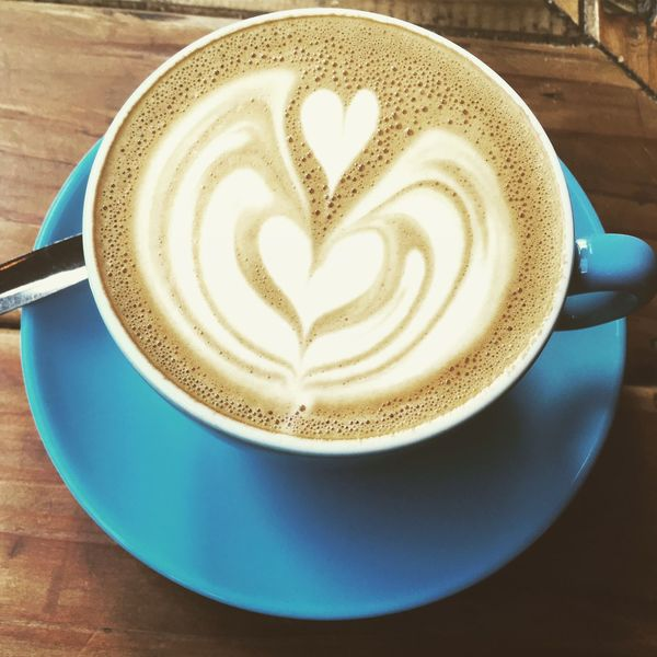 Coffee - Drink Coffee Cup Drink Latte Latteart Food And Drink Heart Shape Frothy Drink Froth Art Flatwhite Flatwhitecoffee