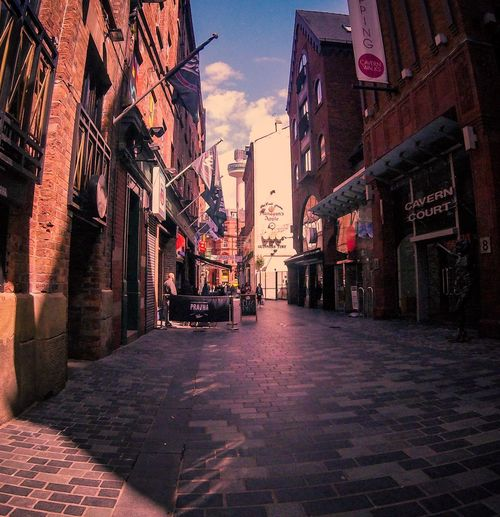 Mathew Street Liverpool Architecture Building Exterior Built Structure The Way Forward City Outdoors Sky Day No People