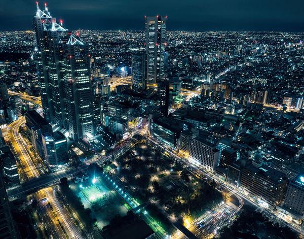 The Architect - 20I6 EyeEm Awards Japan Tokyo Shinjuku Nightphotography Cityscape Lostintranslation Longexposurephotography Longexposure Urbanlandscape