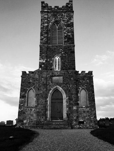 Church Blackandwhite EyeEm Best Shots - Black + White Stone Historical Building Time