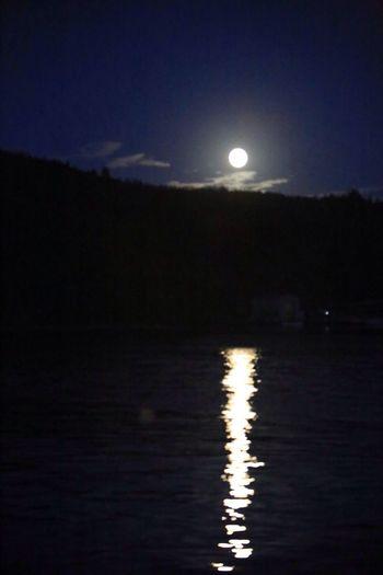 Moon Supermoon Wish Hello World