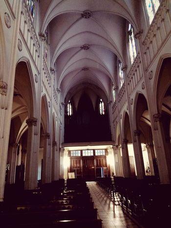 Santiagoapie Arch Architectural Column Iglesia Gótica Niñojesusdepraga Independencia