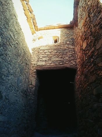 Morocco Architecture Amazigh Stone House Light And Shadow Tafraout Idaougnidif Sousse