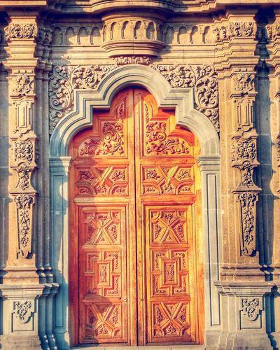 Building Exterior Architecture Door Outdoors Mexico City Travel Destinations PhonePhotography Old Buildings Mexico Travel Cultures Architecture