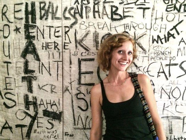 Writing On The Walls Portrait Portrait Of A Woman Friends