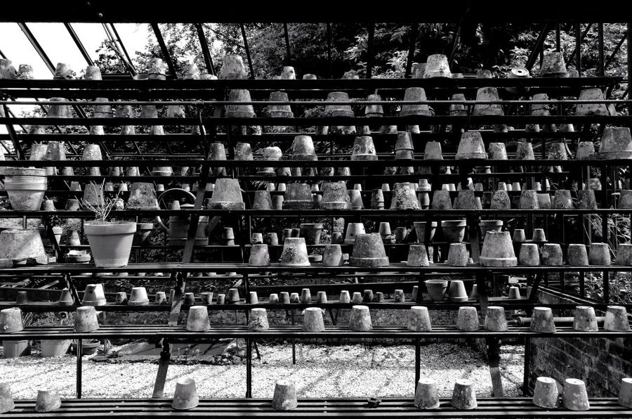 Large Group Of Objects Day No People Outdoors Capture The Moment From My Point Of View Blackandwhite Black & White Minimalism HuaweiP9 Contrast In A Row Pattern Backgrounds