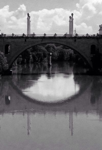 Thebridge Rome Pontemilvio Blackandwhite Black & White One Day Streetphotography Upanddown Bestshot