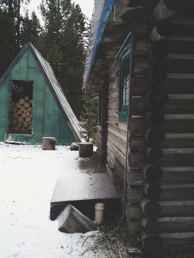 PNWonderland Pnwcollective PNW Oregon Cabin Mountains Snow