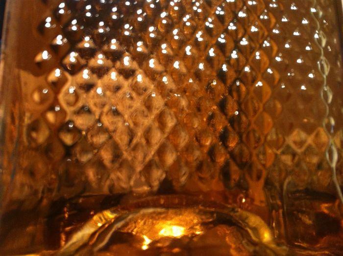 Full frame shot of illuminated glass