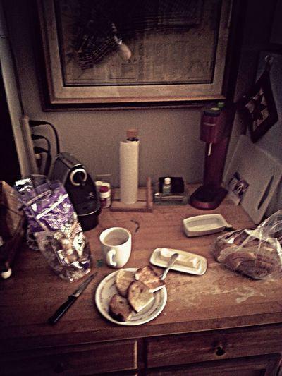 Morning Rituals Breakfast Toast Caffè Au Lait