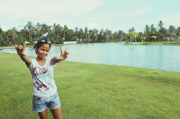 throwback photo in davao. Hanging Out Living Life To The Fullest❤ Nature Beauty Taking Photos