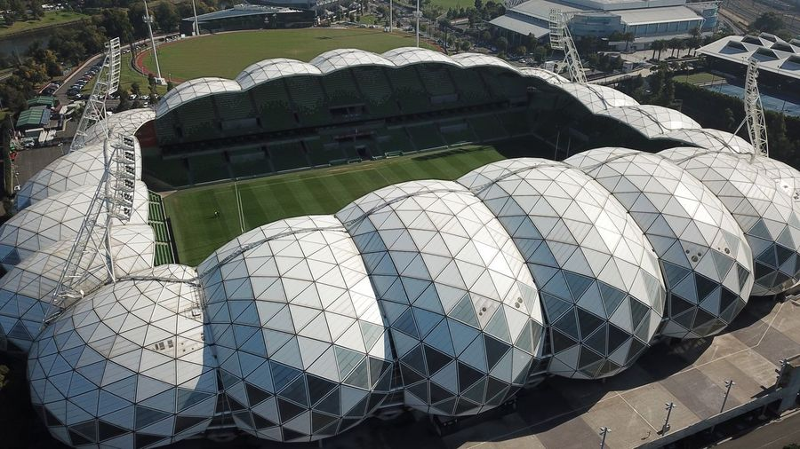 AAMI Stadium Melbourne Icon Australia Arena Sport Melbourne No People High Angle View Day Sunlight Close-up Nature Outdoors Pattern Still Life White Color