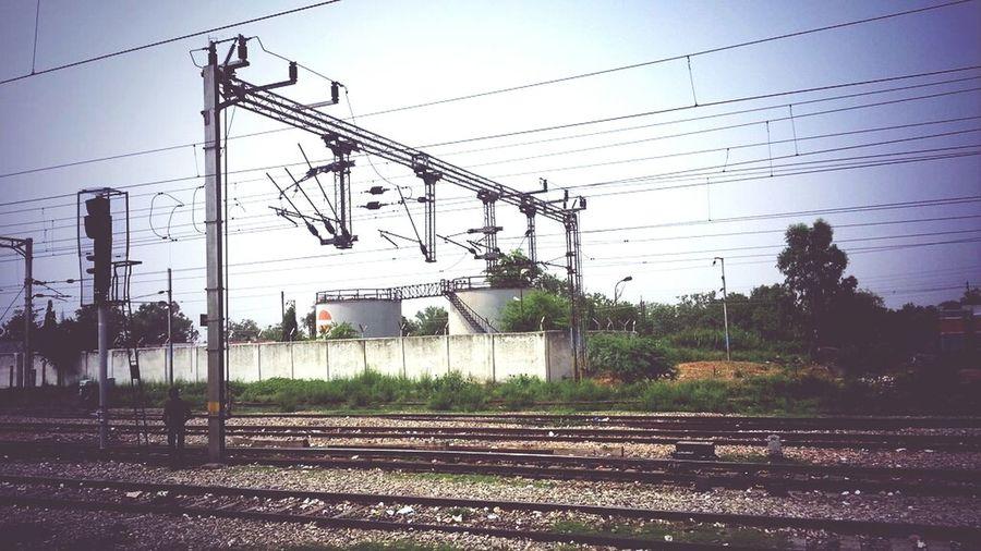 Public Transportation Commuting Taking Photos Indianrailways