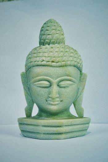 Peace ☮️Buddha Buddha Statue Buddha Head Peaceful Peace Cool Limestone Statue Limestone Statue Details Cool Colors Nikon Nikonphotography Art Close-up White Spiritual Pure Calming Relaxing