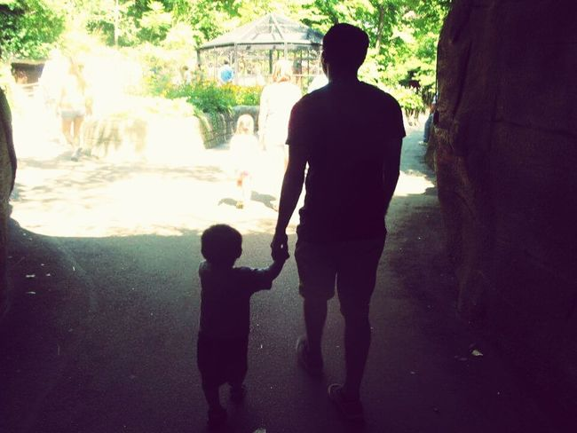 Our first zoo adventure. Adventure Buddies Father & Son FirstOfMany This Is Family