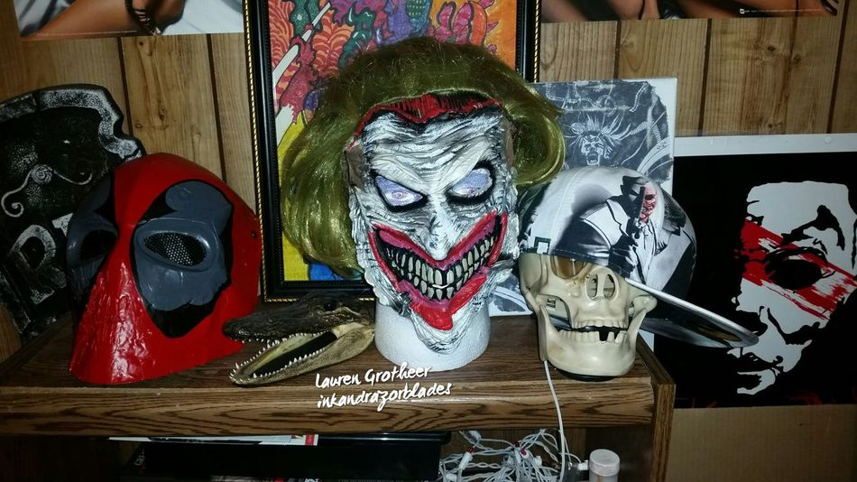 New Deadpool Airsoft Paintball Mask Blends Nicely Inmyroom Sickasfuck Badass Loveit