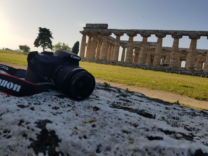 Paestum Canon Archeology Paestum Italy🇮🇹 Sky