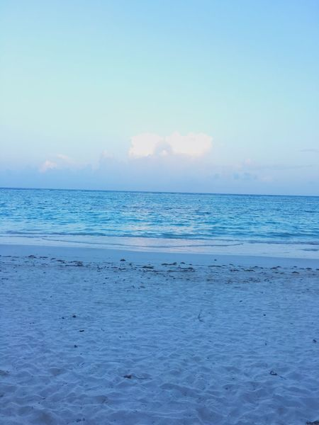 Beach Akumal Secrets Relaxing Enjoying Life Mexico