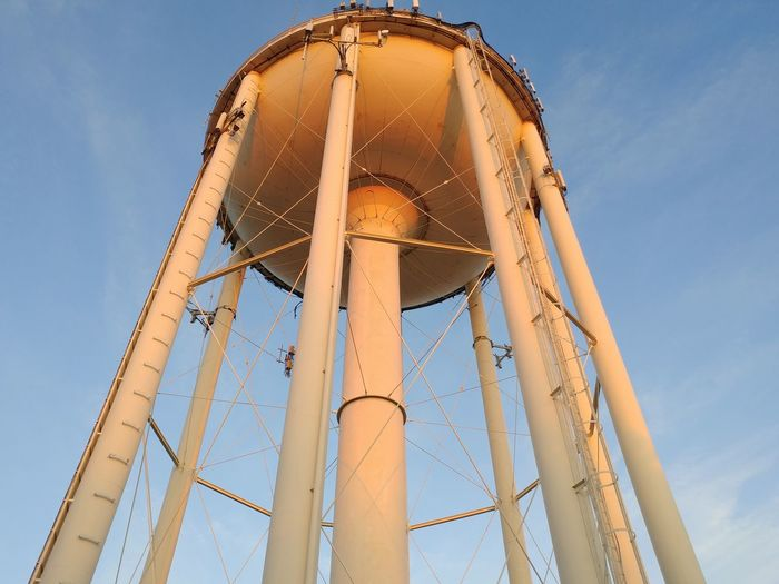 Water Tower Business Finance And Industry No People Sky Blue Architecture Industry Factory Outdoors