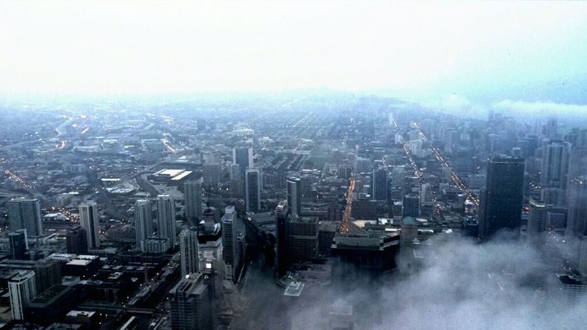 Willistower Topofthecity Chi-Town Cityscapes Head In The Clouds Head In The Sky