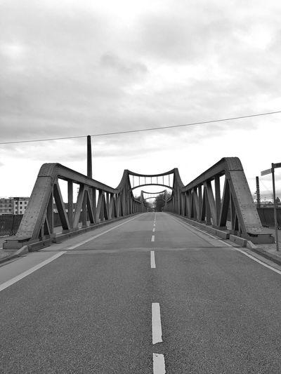 …crossing the Dornheimer Brücke! #Bridge