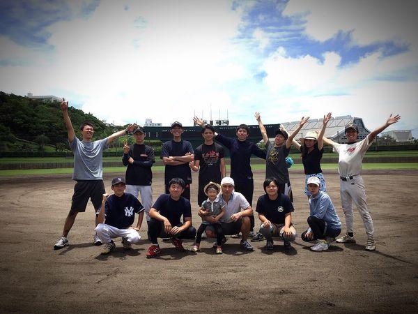 2015.7.14 かな 野球