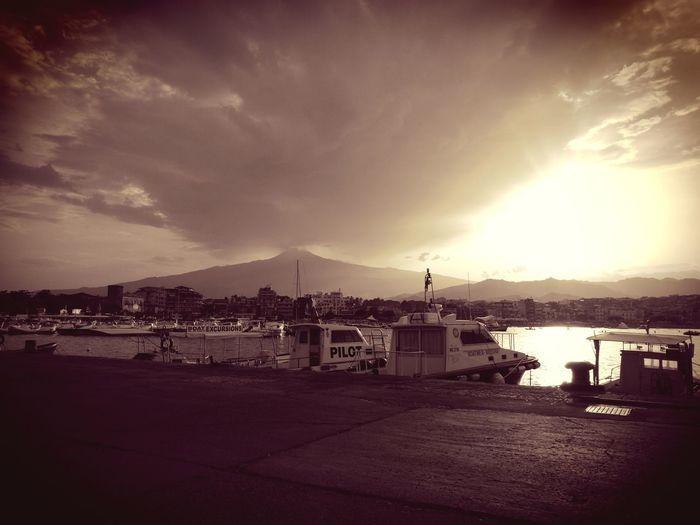 Giardininaxos Mare Porto Etna, Mountain, Sicily, First Eyeem Photo