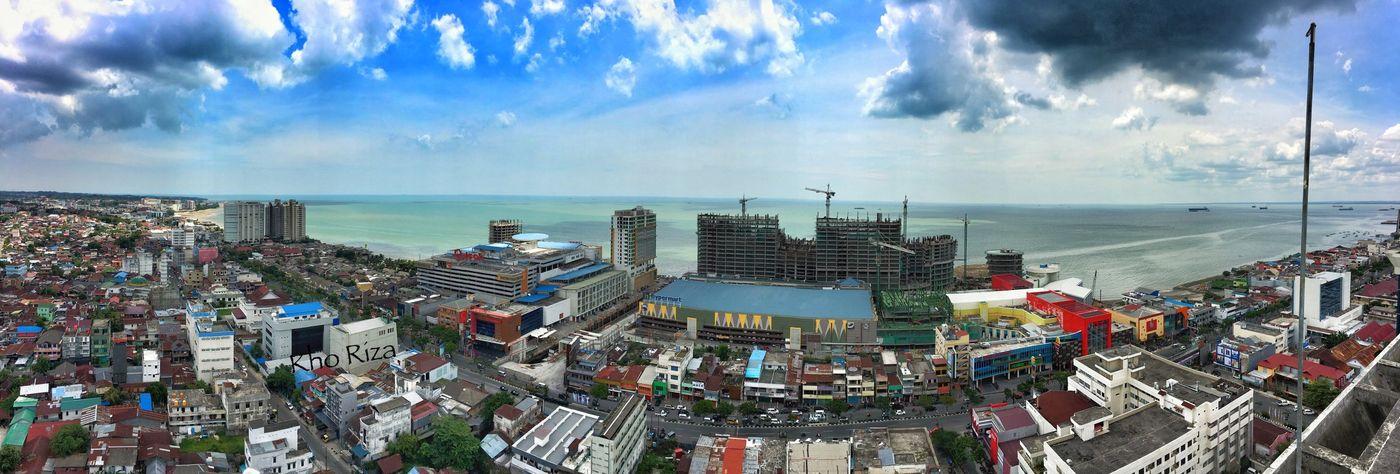 Top Of Menara Bahtera Hotel Iphone6s Iphonephotography Balikpapan Hotel View