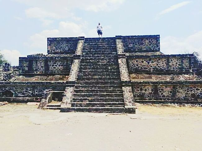 Ancient Civilization One Person Outdoors Day Pyramid Mexico EyeEmNewHere EyeEmNewHere
