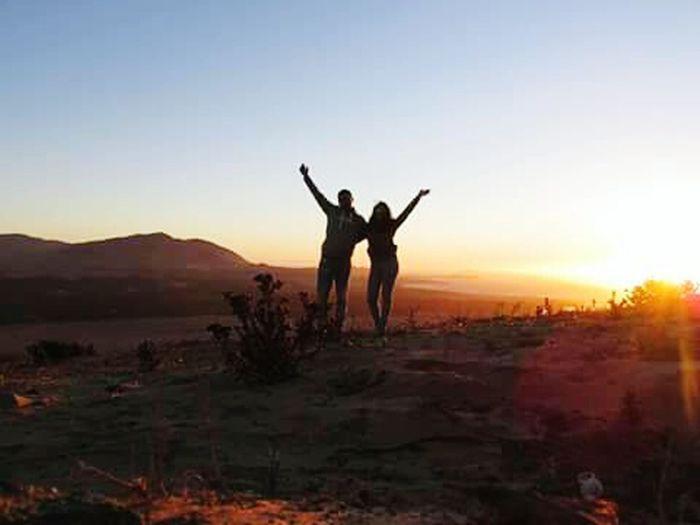 Atardecer Playa Dunas Amigos Terceraregion Huasco Chile♥
