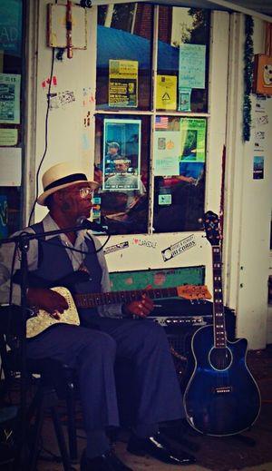 Bluesman Clarksdale Wolfman Mississippi