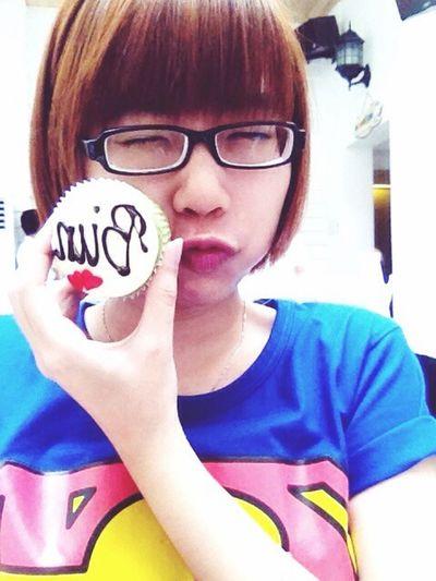 Bunnie Happy Birthday To Me!! Last Year (: Yummy Cupcakes