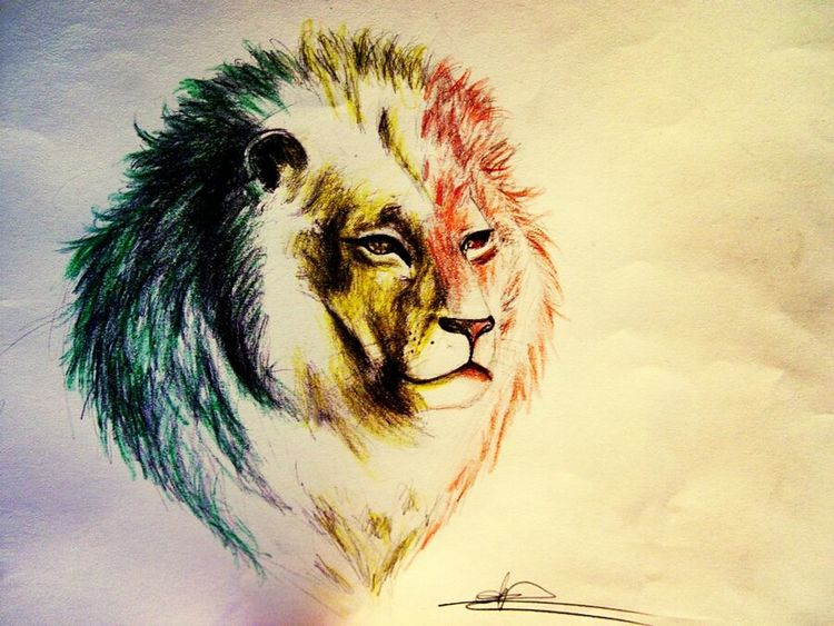 Art, Drawing, Creativity Beautiful Rastafari Kingofthejungle