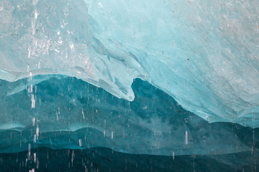 Arctic Beauty In Nature Blue Cave Cold Temperature Crystal Crystal Clear Flowing Flowing Water Frozen Full Frame Glacier Global Warming Ice Ice Age Iceberg - Ice Formation Landscape Melting Meltwater Nature Outdoors Polar Climate Remote Scenics Water