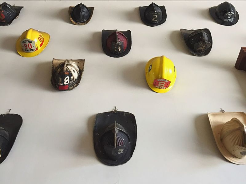 Exhibition Firehouse Pattern Day At The Museum Firehouse Helmets Fresh On Eyeem