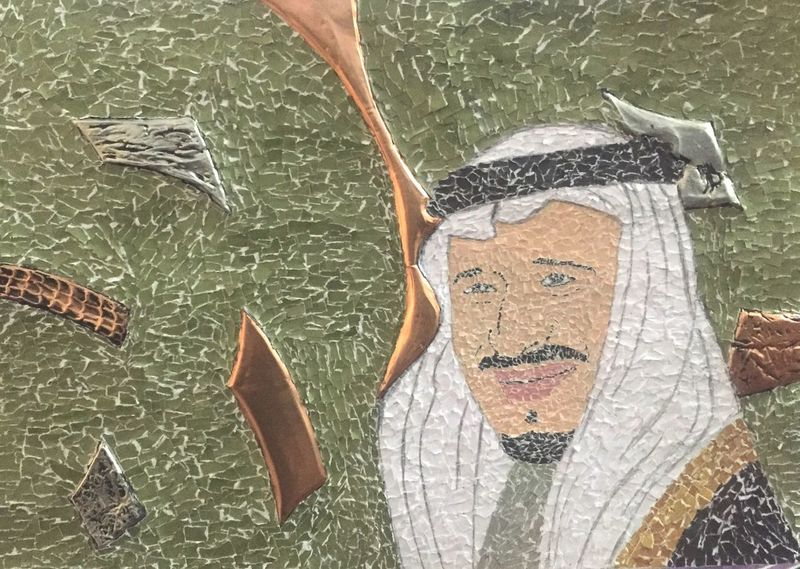 و اكتملت لوحتي 💚💚ايش رأيكم ؟؟. وطني كلّ عام وسعوديتنا بأمن وأمان 💚. Happy Saudi national day…