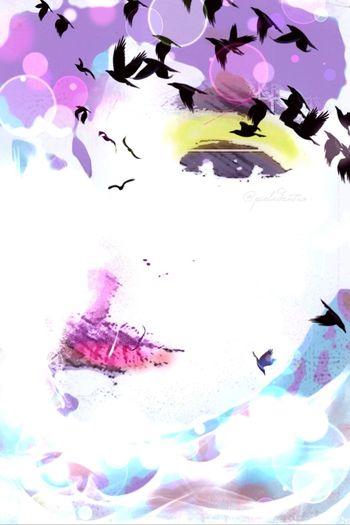 El silencio mutila ... NEM Painterly NEM Self WeAreJuxt.com C Desnuda