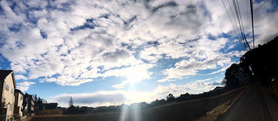 I love sky - Japan ☁️☀️❤️ Cloud - Sky Sky Day Nubes Y Cielo Nubesdehoy ☁️nubes Nature Winter