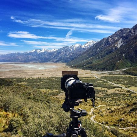 Photographing the tasman valley Tasman Valley New Zealand Sony A7r Earth Nature Mountains