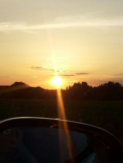 Beautiful Sun Evening Sonnenuntergang Nofilter Great Shot When The Sun Goes Down Love Romantic These Sight