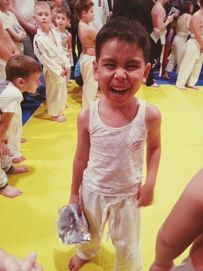 племяш на соревнованиях дзюдо соревнования