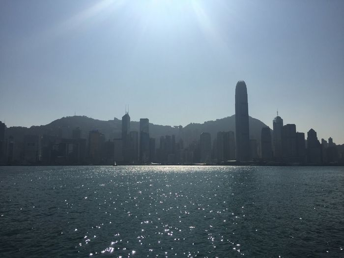 Hong Kong Building Exterior Architecture Clear Sky Nature Outdoors Cityscape Skyscraper No People Victoria Harbour Hong Kong Island