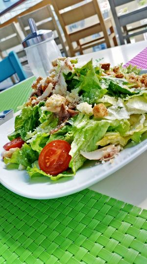 Just a salad..