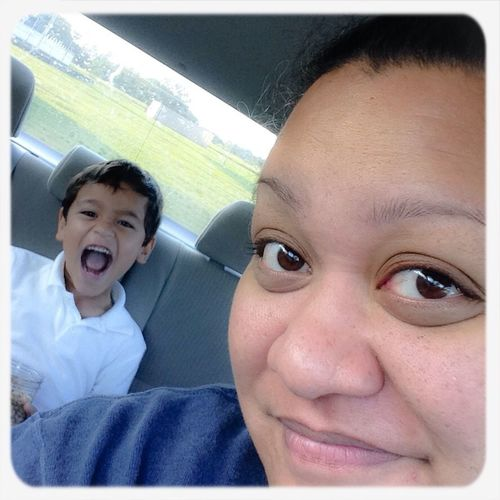 Going To School Good_morning Being Silly Family