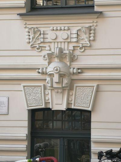Stunning work Art Nouveau Architecture Sculpture Statue Architecture Building Exterior Built Structure Close-up Sculpted Art