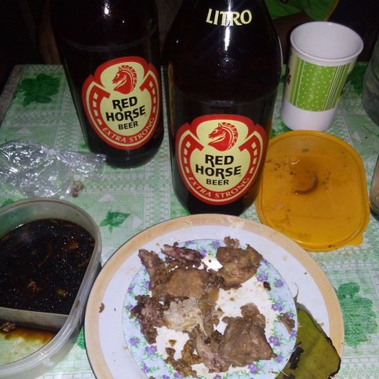 This is just the washing... Redhorse Rhb Beer Pinakupsan tanduay
