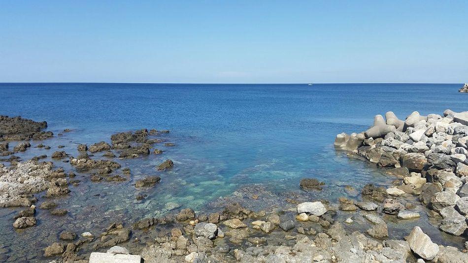 Sea Greece Crete Watercolor Water Reflections Mediterranean Sea Rethymno Crete Hellas Rethymno